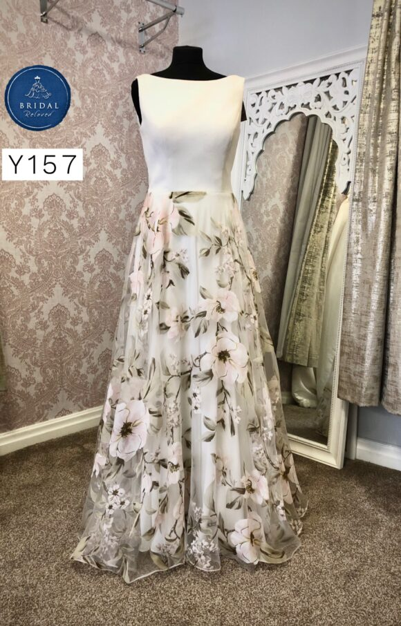 Thimbelinas   Wedding Dress   Aline   Y157