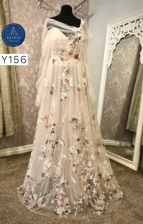 Thimbelinas   Wedding Dress   Aline   Y156