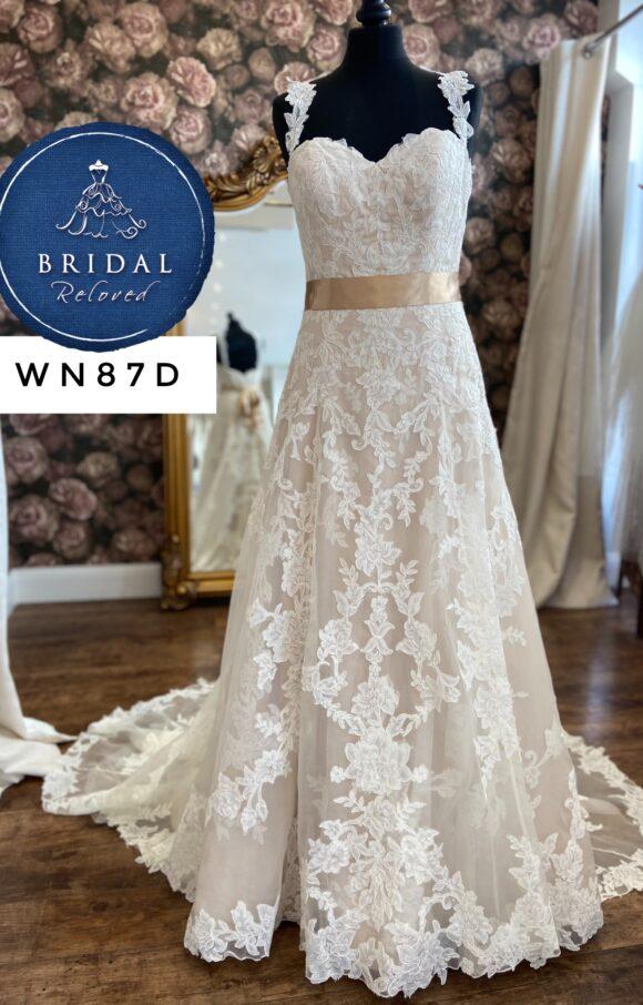 Watters   Wedding Dress   Aline   WN87D