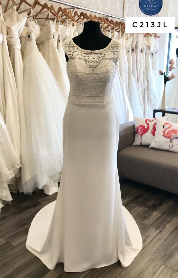 Catherine Parry   Wedding Dress   Column   C213JL