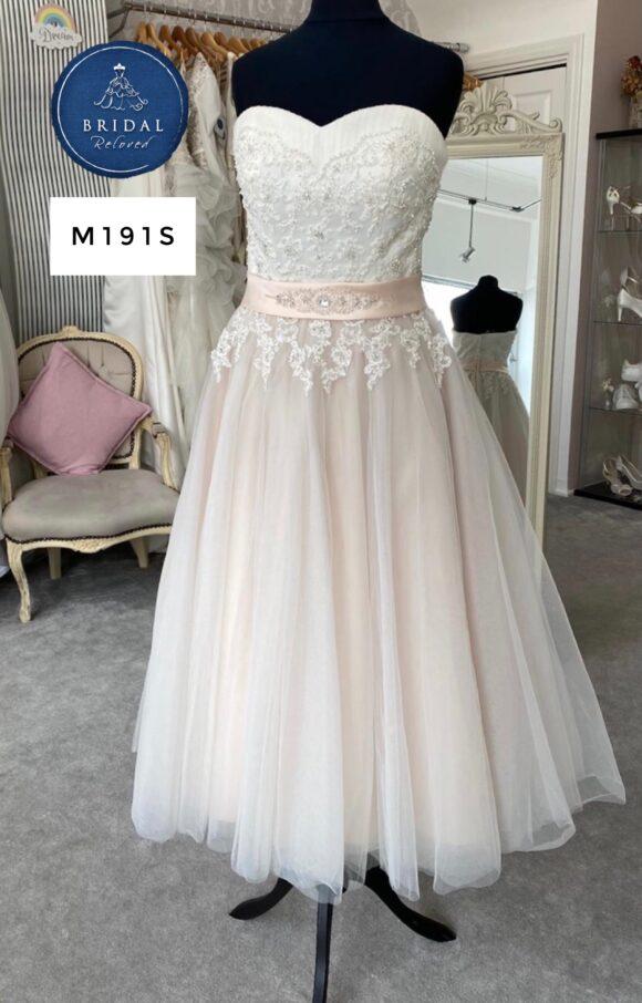 Amanda Wyatt   Wedding Dress   Tea Length   M191S