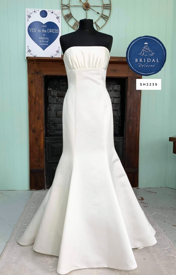 D'Zage | Wedding Dress | Fit to Flare | SH223S