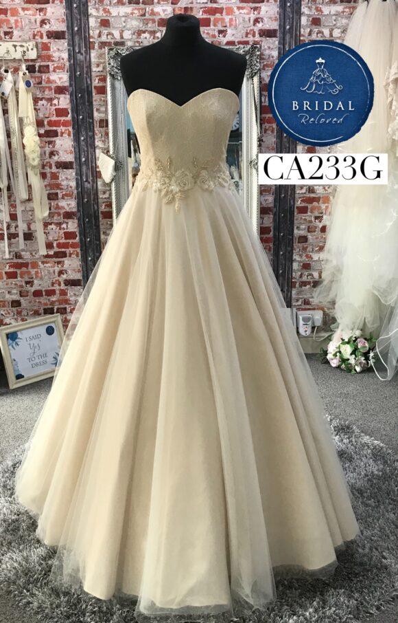 Sassi Holford   Wedding Dress   Aline   CA233G