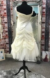 David Fielden | Wedding Dress | Tea Length | CA235G