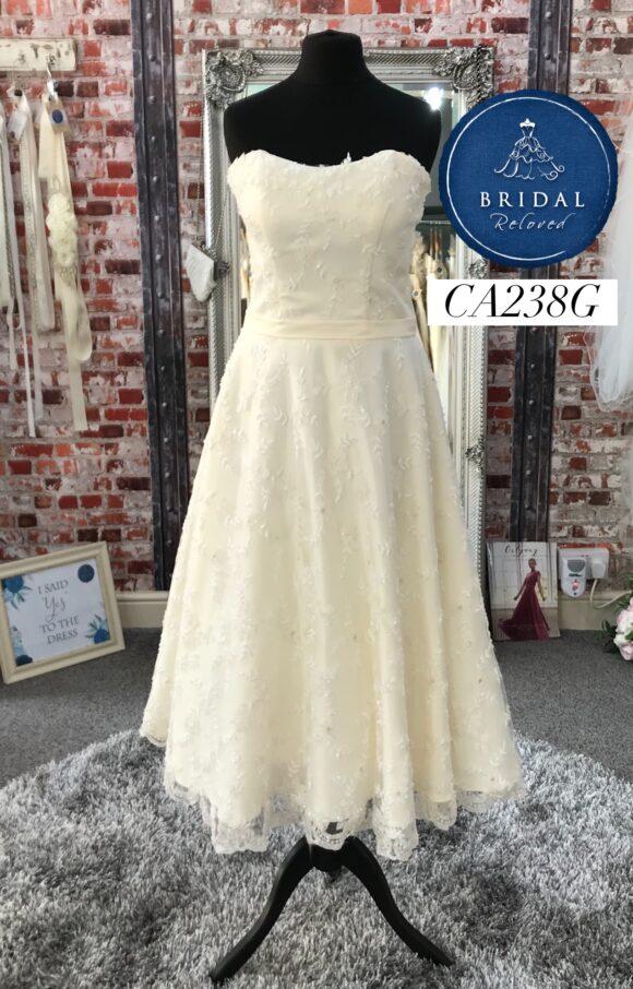 Eternally Yours | Wedding Dress | Tea Length | CA238G