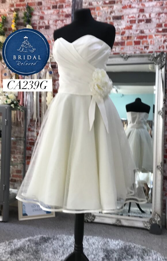Eternally Yours   Wedding Dress   Tea length   CA239G