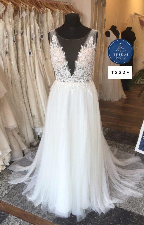 Watters | Wedding Dress | Aline | T222F