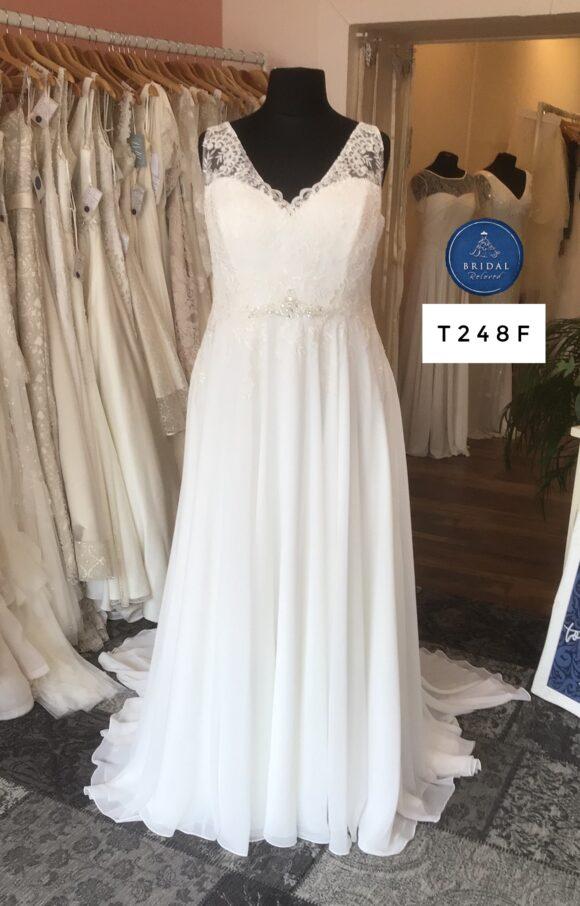 Terra Bridal   Wedding Dress   Aline   T248F