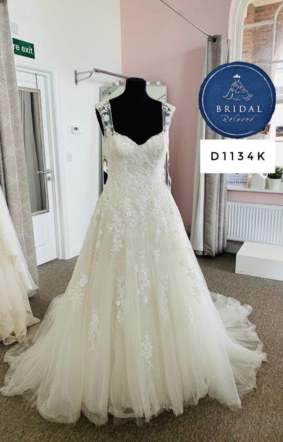 Pronovias   Wedding Dress   Aline   D1134K