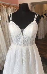 Aire Barcelona | Wedding Dress | Aline | T254F