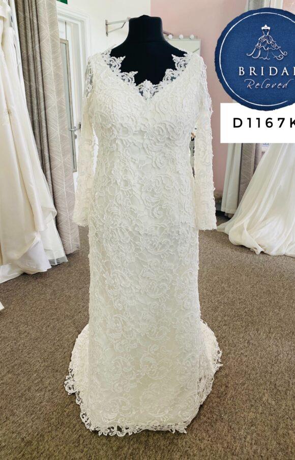 Hilary Morgan | Wedding Dress | Column | D1167K