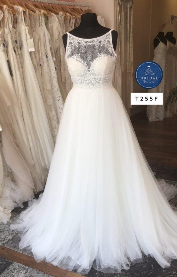 Aire Barcelona | Wedding Dress | Aline | T255F