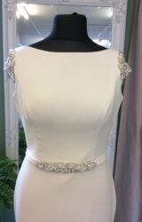 Paloma Blanca | Wedding Dress | Sheath | ST578S
