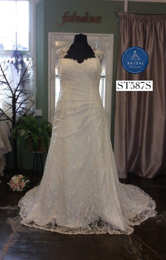 Justin Alexander | Wedding Dress | Aline | ST587S