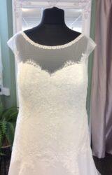 White Rose | Wedding Dress | Aline | ST586S