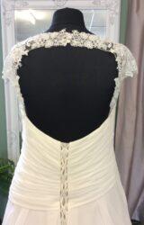 White Rose | Wedding Dress | Aline | ST584S
