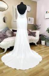 White Rose | Wedding Dress | Fit to Flare | W106L