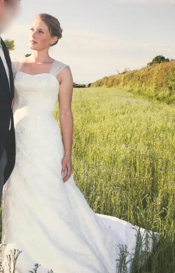 Stewart Parvin   Wedding Dress   Aline   C2125