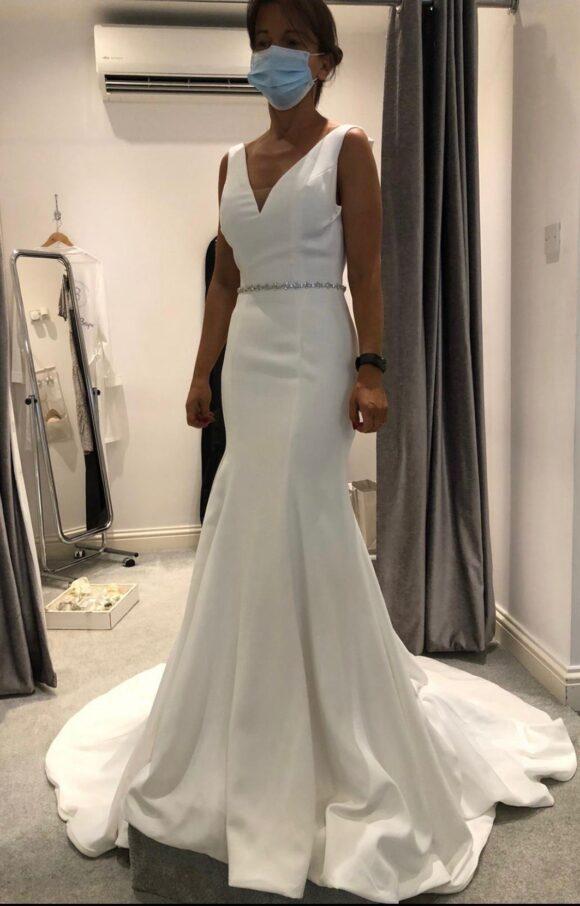 Justin Alexander | Wedding Dress | Fit to Flare | C2182