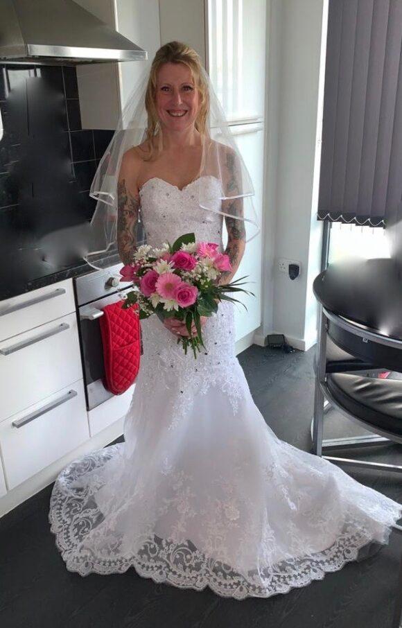 Snow Lotus   Wedding Dress   Fishtail   C2163