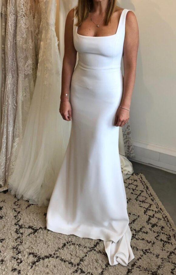 Alyssa Kristen   Wedding Dress   Fit to Flare   C2129
