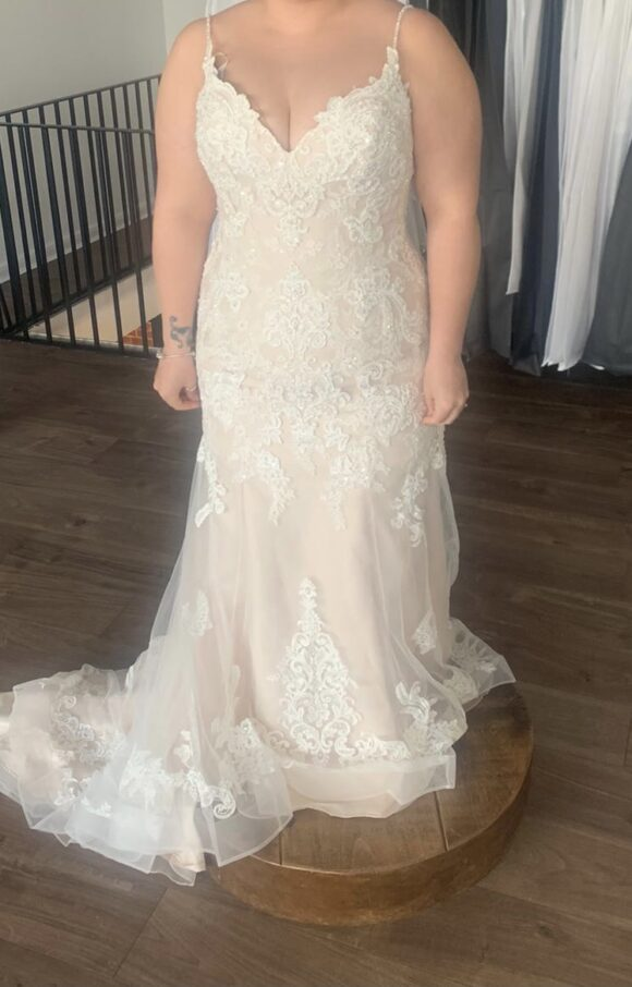 Maggie Sottero   Wedding Dress   Fit to Flare   C2176