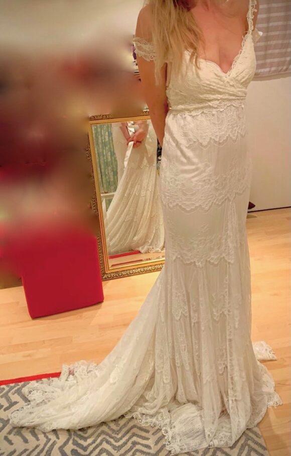 Anna Campbell | Wedding Dress | Trumpet | C2151
