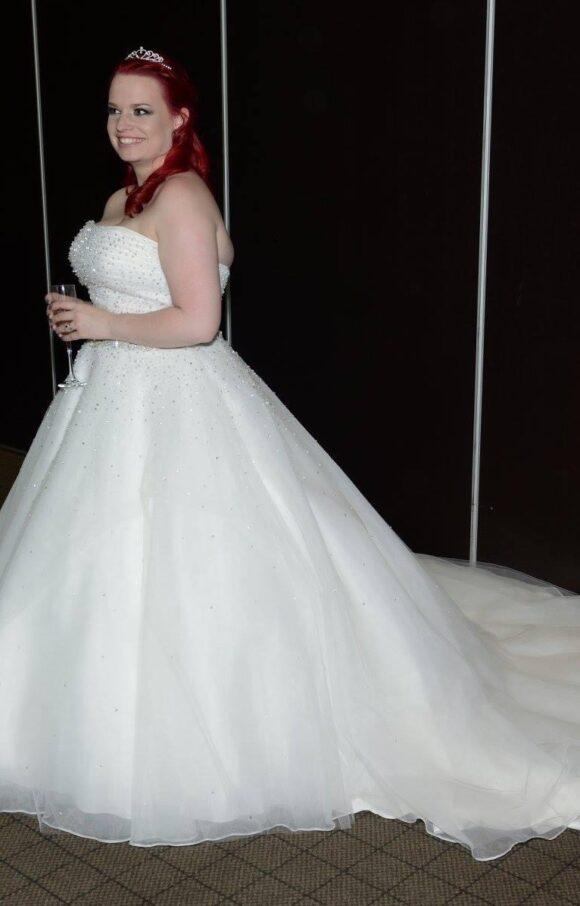 Ronald Joyce   Wedding Dress   Aline   C2237