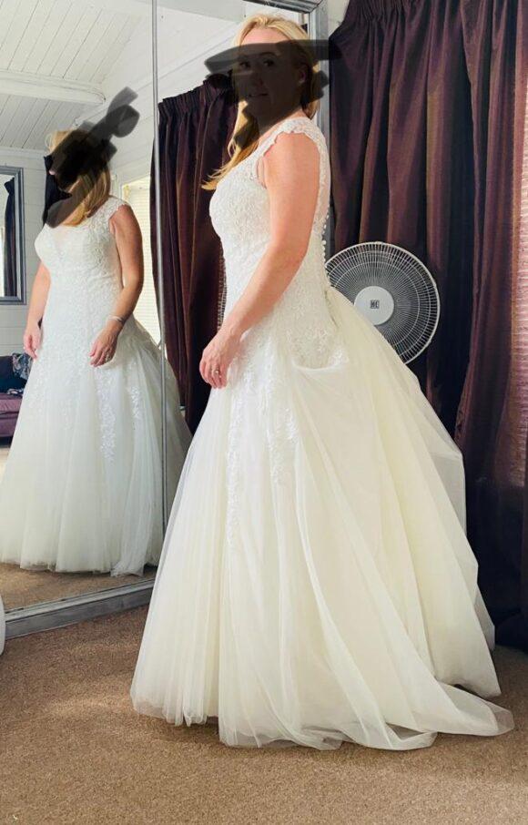 Viva Bride | Wedding Dress | Drop Waist | C2220