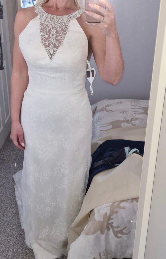 Diane Harbridge | Wedding Dress | Halter Neck | C2257