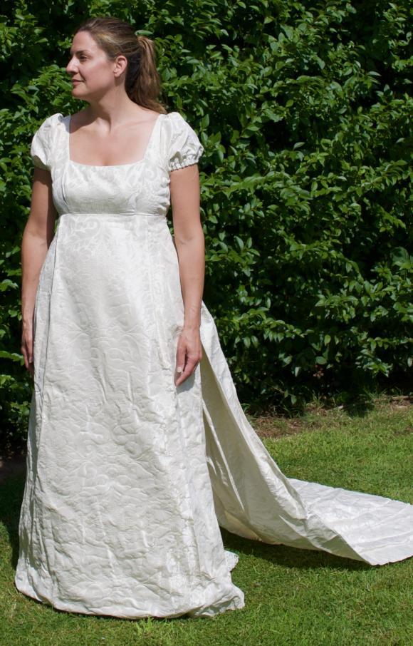 Custom Made | Wedding Dress | Empire | C2351