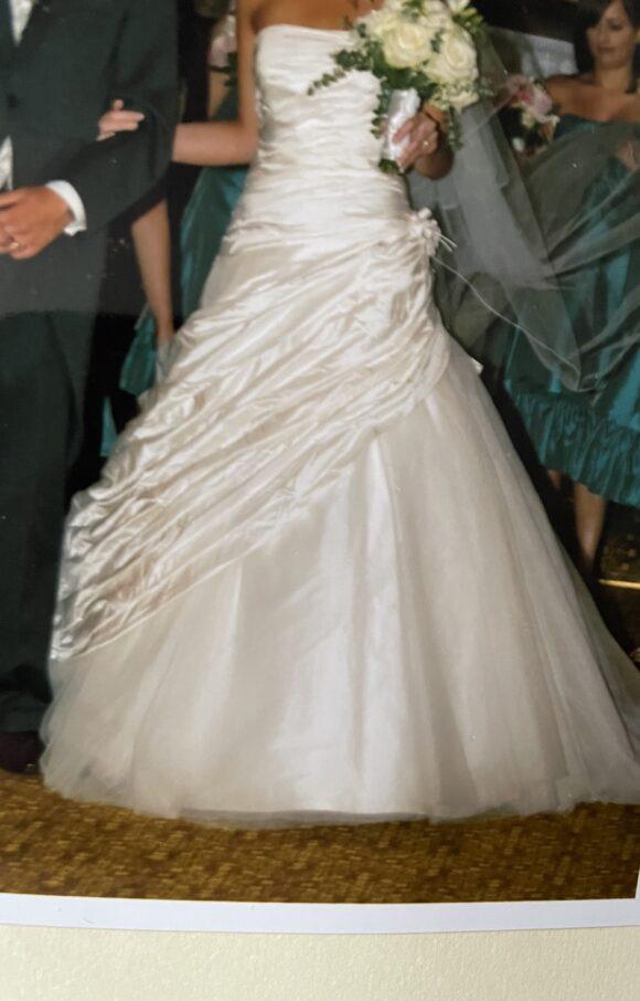 Ian Stuart   Wedding Dress   Drop Waist   C2288