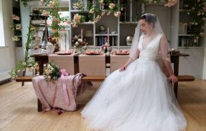 Bride – The Spring Wedding Shoot inspired by The Secret Garden