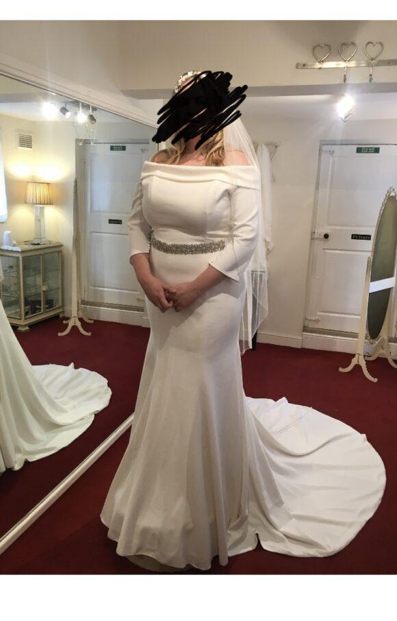Ellis Bridal   Wedding Dress   Sheath   C2314