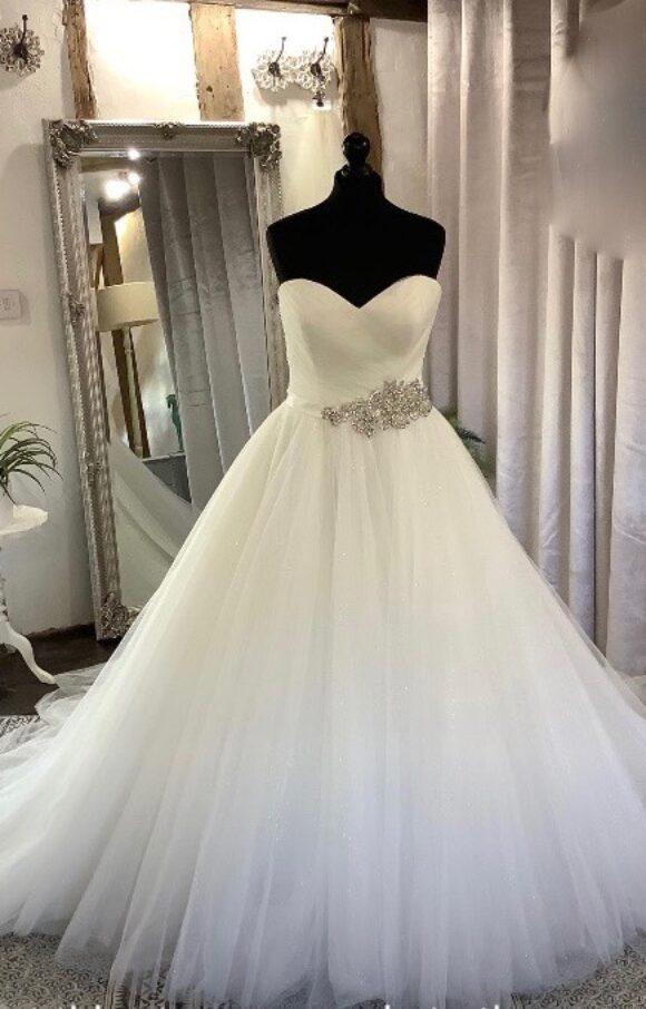 Allure   Wedding Dress   Aline   C2216