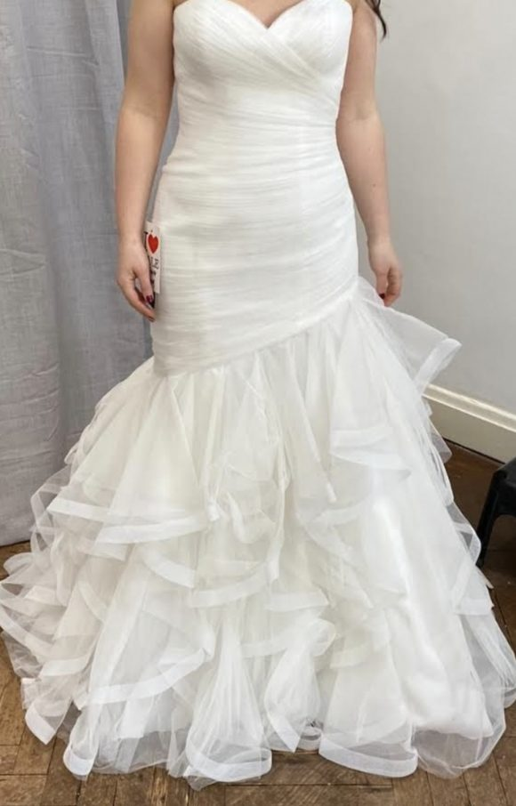 White One | Wedding Dress | Fishtail | C2296