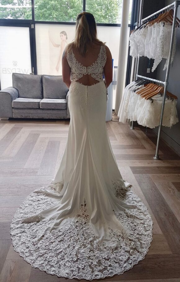 Wed2B | Wedding Dress | Sheath | C2230