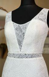 White Rose | Wedding Dress | Aline | W1098L