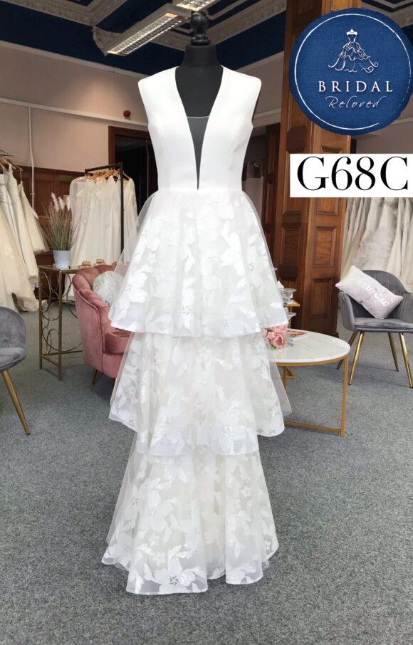 Savin | Wedding Dress | Column | G68C