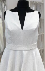 House of Nicholas   Wedding Dress   Tea length   LE363M