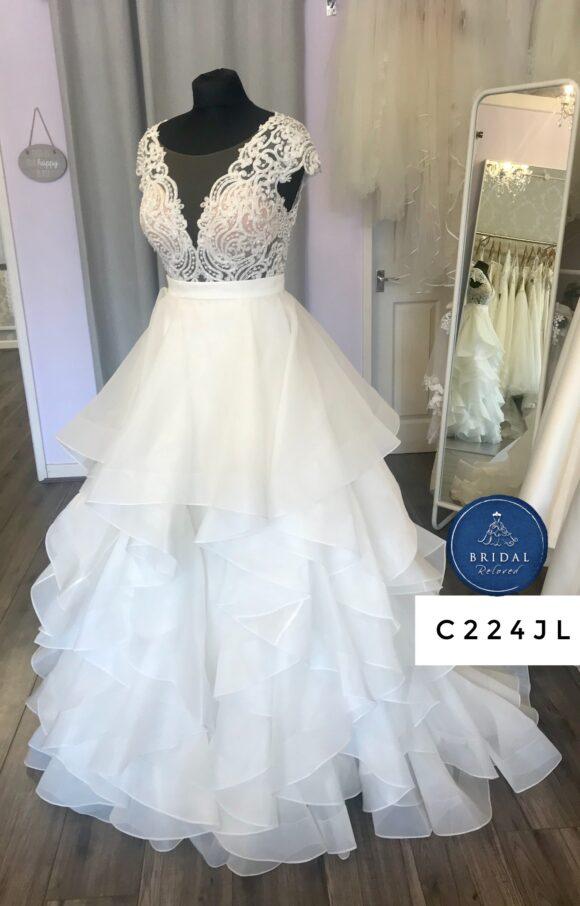 Martina Liana | Wedding Dress | Separates | C227JL / C224JL