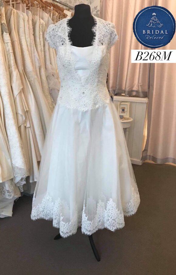 Charlotte Balbier | Wedding Dress | Tea Length | B268M