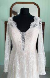 White Rose | Wedding Dress | Aline | SH230S