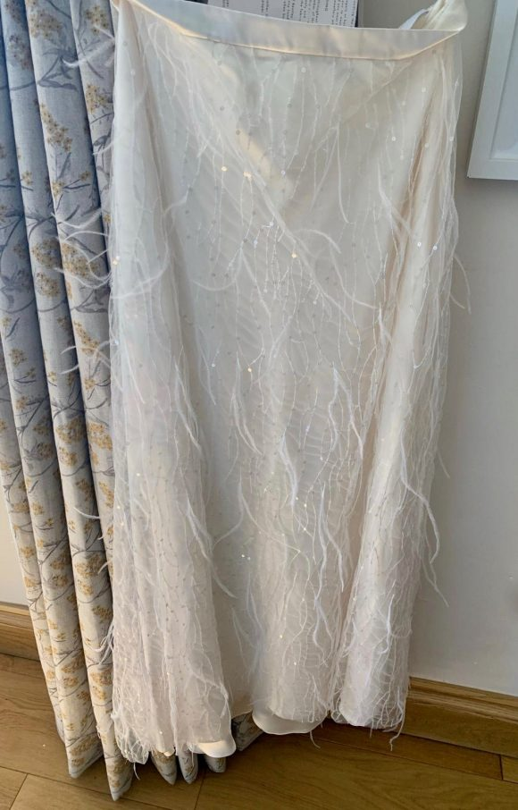 Halfpenny London | Bridal Skirt | Straight | C2295