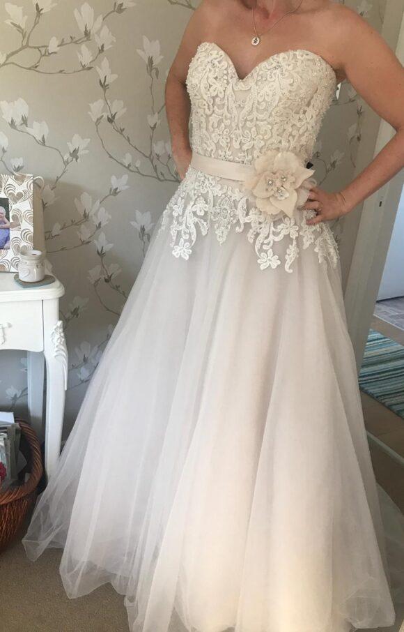 Ella Rosa   Wedding Dress   Aline   C2250