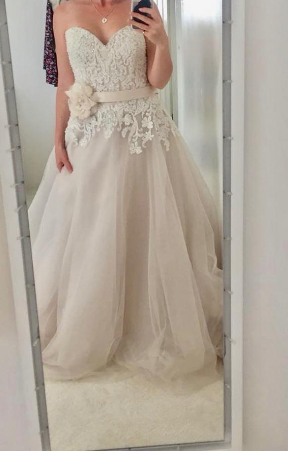 Ella Rosa | Wedding Dress | Aline | C2250