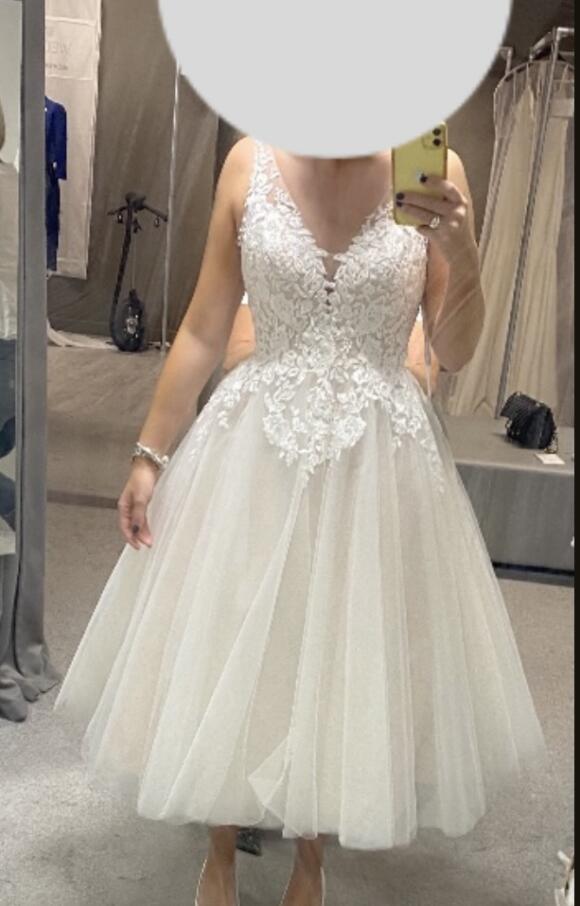 Viva Bridal   Wedding Dress   Tea Length   C2464