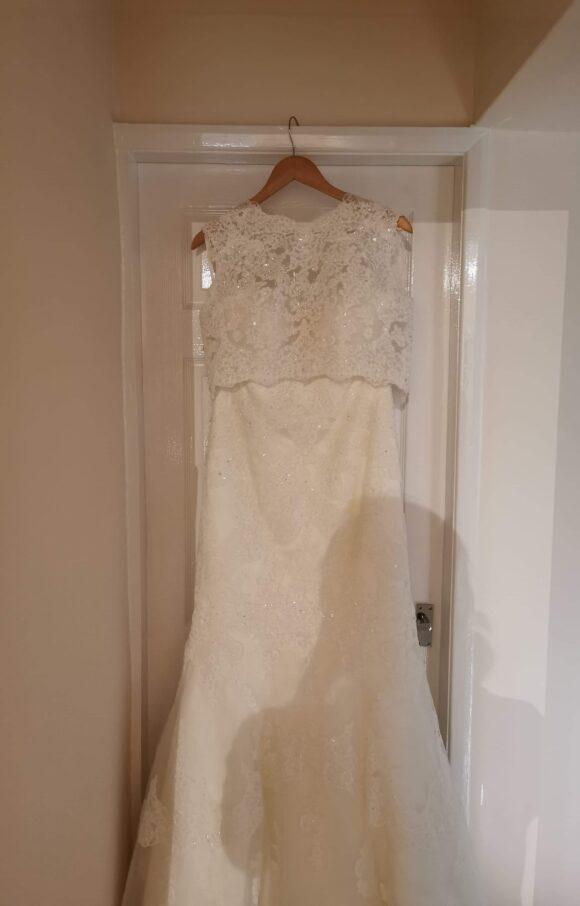 Unknown Designer | Wedding Dress | Fit to Flare | C2218
