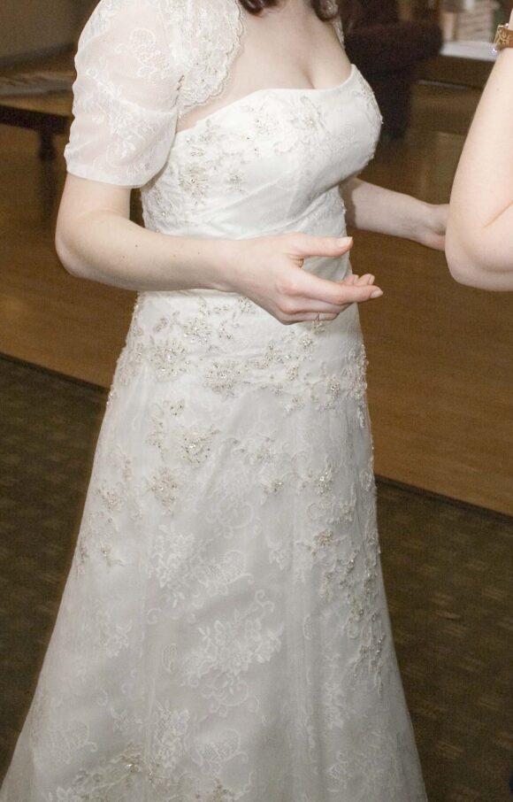 Sasha Perez | Wedding Dress | Fit to Flare | C2234