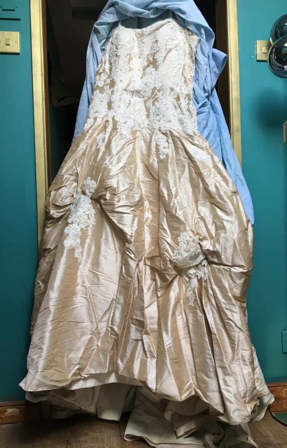 Justin Alexander   Wedding Dress   Drop Waist   C2359